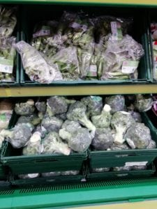 Plastic Wrapped Broccoli - Reduce Plastic In My Life