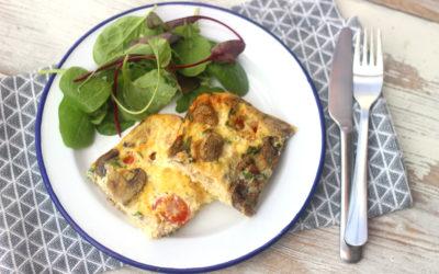 Tuna, Tomato and Chive Quiche Recipe